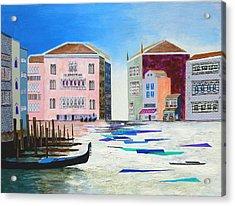 The Fantastic Reality Of Venice Acrylic Print