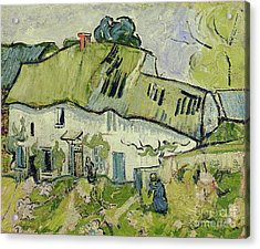 The Farm In Summer Acrylic Print by Vincent van Gogh