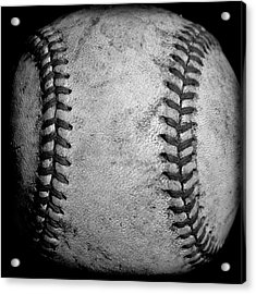The Fastball Acrylic Print by David Patterson