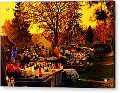 The Feast Of The Dead Acrylic Print
