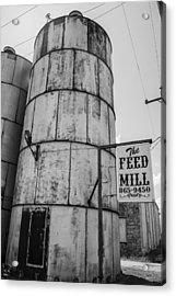 The Feed Mill Acrylic Print by Craig David Morrison