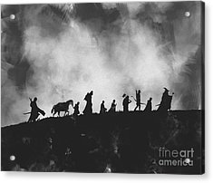 The Fellowship Noir Acrylic Print