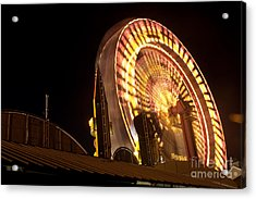 Acrylic Print featuring the photograph The Ferris Wheel by David Bishop