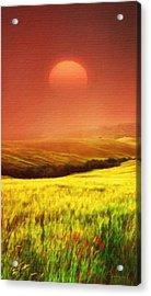 The Fields Acrylic Print