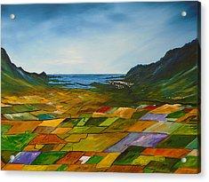 The Fields Of Dingle Acrylic Print