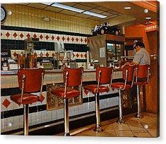 The Fifties Diner 2 Acrylic Print