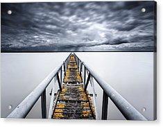 The Final Cut Acrylic Print by Jorge Maia