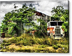 The Final Stop Acrylic Print by Greg Sharpe