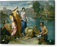 The Finding Of Moses Acrylic Print
