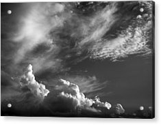 The Fine Art Of Clouds Acrylic Print by Jim  Darnall