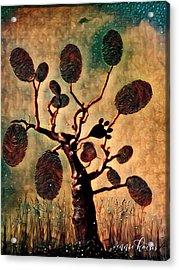 The Fingerprints Of Time Acrylic Print
