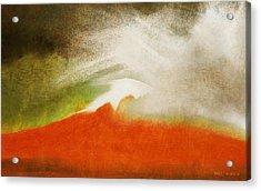 The Fire Mountain - Cotapaxi Acrylic Print