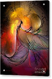 The Firedevil Acrylic Print