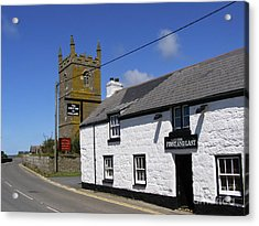 Acrylic Print featuring the photograph The First And Last Inn In England by Terri Waters