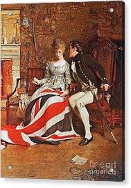 The First Union Jack  Acrylic Print