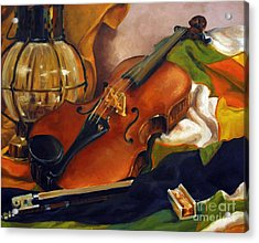 The First Violin Acrylic Print