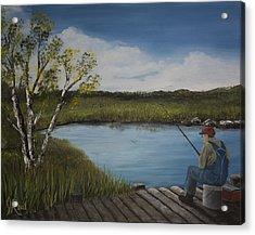 The Fishermen Acrylic Print