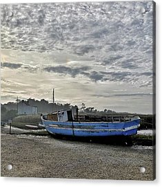 The Fixer-upper, Brancaster Staithe Acrylic Print by John Edwards