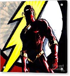 The Flash Acrylic Print