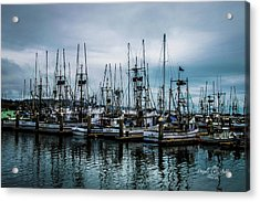 The Fleet Acrylic Print