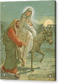 The Flight Into Egypt Acrylic Print