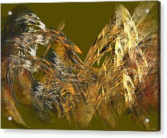 The Flight Of The Bird Acrylic Print by Emma Alvarez