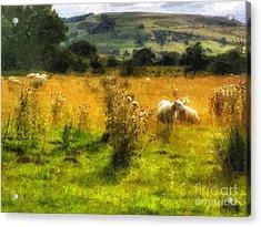The Flock Acrylic Print