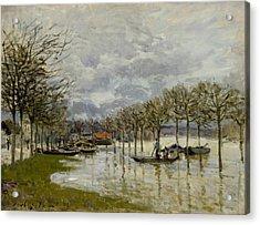 The Flood On The Road To Saint Germain Acrylic Print