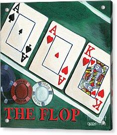 The Flop Acrylic Print by Debbie DeWitt
