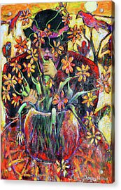 The Flower Arranger Acrylic Print