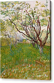 The Flowering Orchard, 1888 Acrylic Print