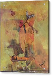 The Flying Dutchman Acrylic Print