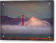 The Fog Acrylic Print by Hanny Heim