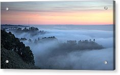 The Fog Kept On Rolling In Acrylic Print