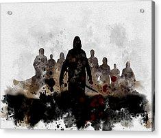The Fog Acrylic Print by Rebecca Jenkins