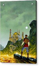 The Forbidden Palace Acrylic Print by Richard Hescox