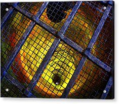 The Forbidden Well Acrylic Print by Roberto Alamino