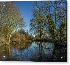 The Ford At The Street Acrylic Print