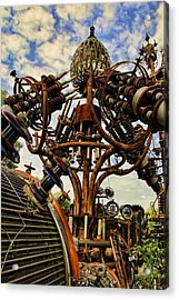 The Forevertron Awaits Dr Evermore's Return Acrylic Print