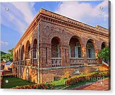 Acrylic Print featuring the photograph The Former British Consulate In Kaohsiung In Taiwan by Yali Shi