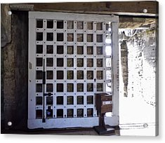 The Fort Door Acrylic Print