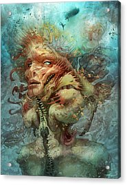 The Fortress Mimic   Acrylic Print by Ethan Harris