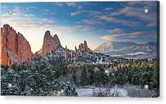Acrylic Print featuring the photograph The Fourth Season by Tim Reaves