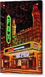 The Fox Theater Atlanta Ga. Acrylic Print
