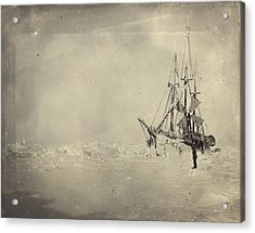The Frams Hull Was Built To Stand Acrylic Print by Fridtjof Nansen
