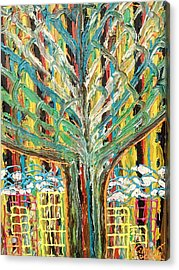 The Freetown Cotton Tree - Abstract Impression Acrylic Print