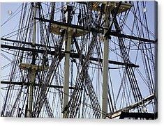 The Friendship Of Salem Tall Ship  In Salem Massachusetts Usa Acrylic Print by Erin Paul Donovan
