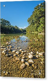 The Frio River In Texas Acrylic Print by Andre Babiak