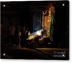 The Fruit Deal Acrylic Print by Michael Garyet