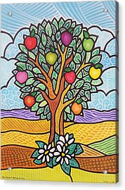 The Fruit Of The Spirit Tree Acrylic Print
